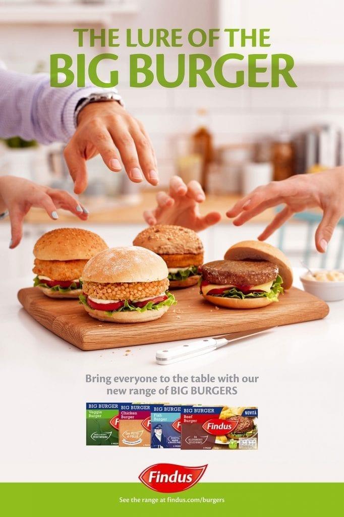 Birdseye burger