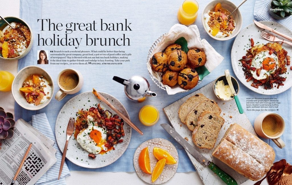 The great bank holiday brunch