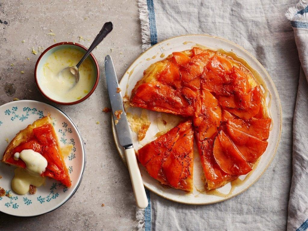Spiced Butternut tart tatin from BBC Britains best cook