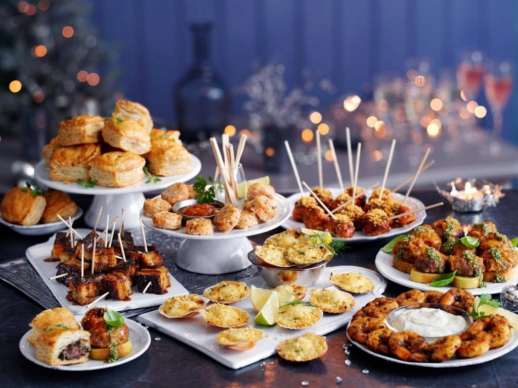 Christmas party selection shot for Marks and Spencer.