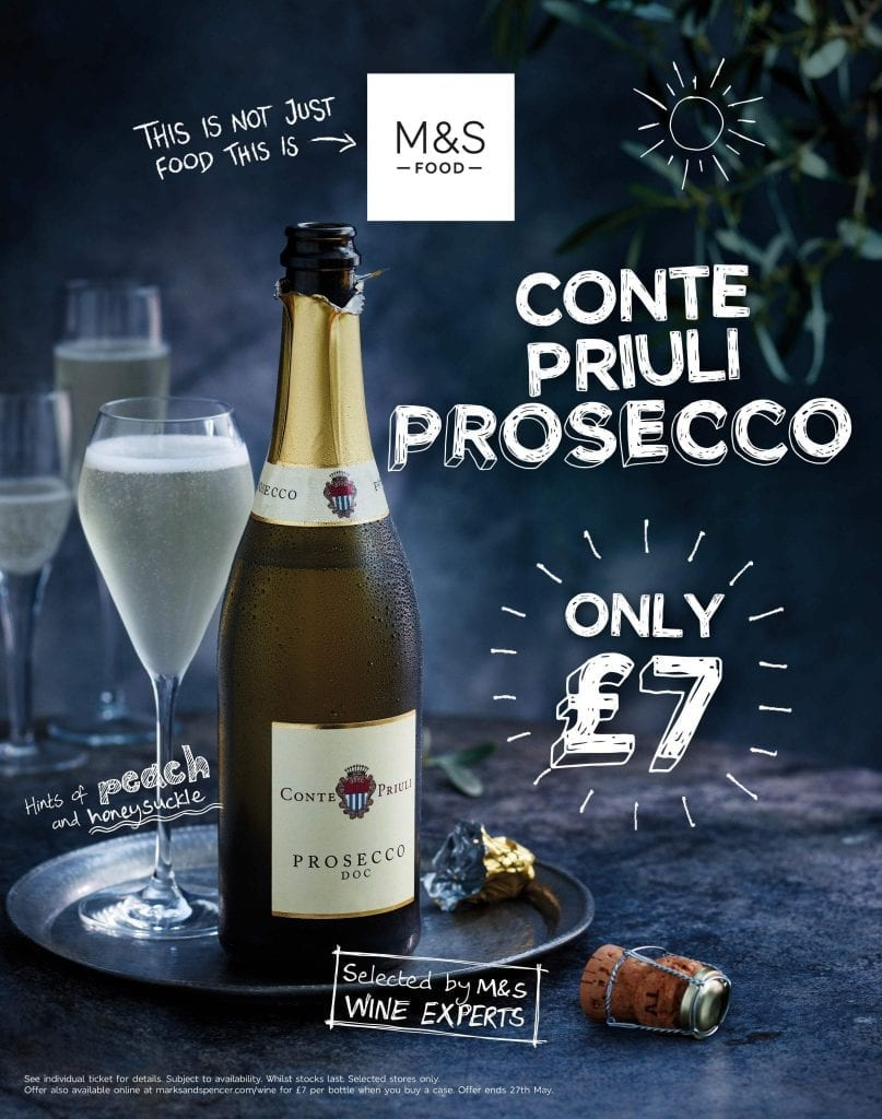 marks and spencers prosecco glass summer rhino