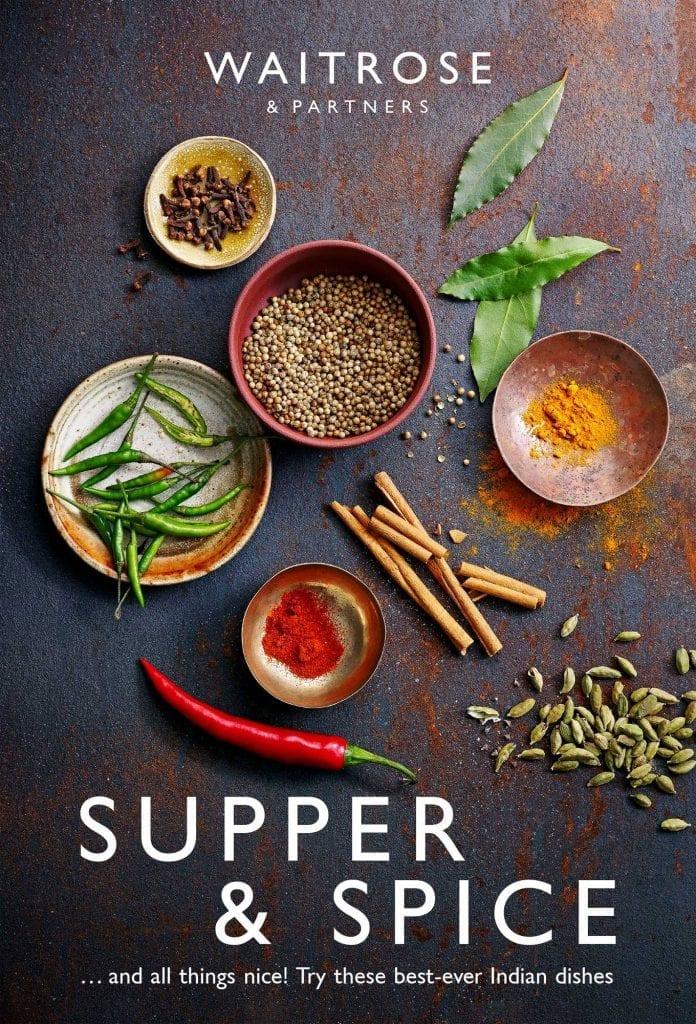 waitrose indian food brochure