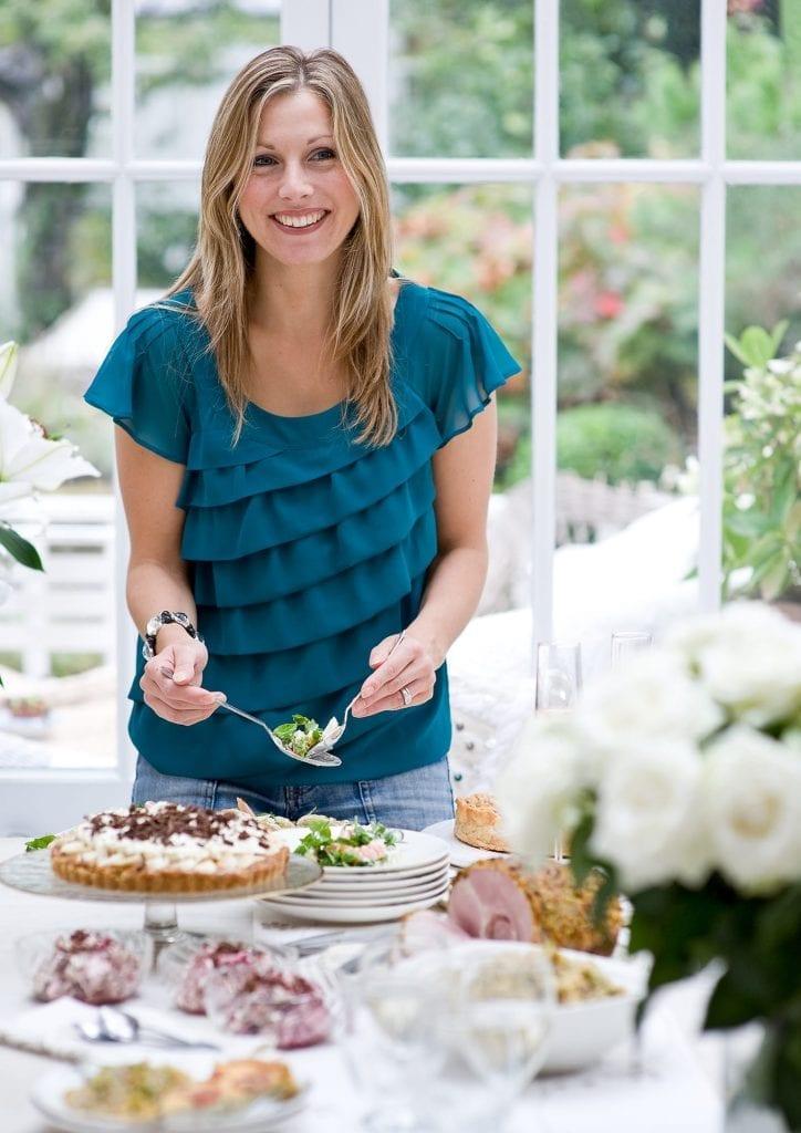 Jo Pratt in the kitchen