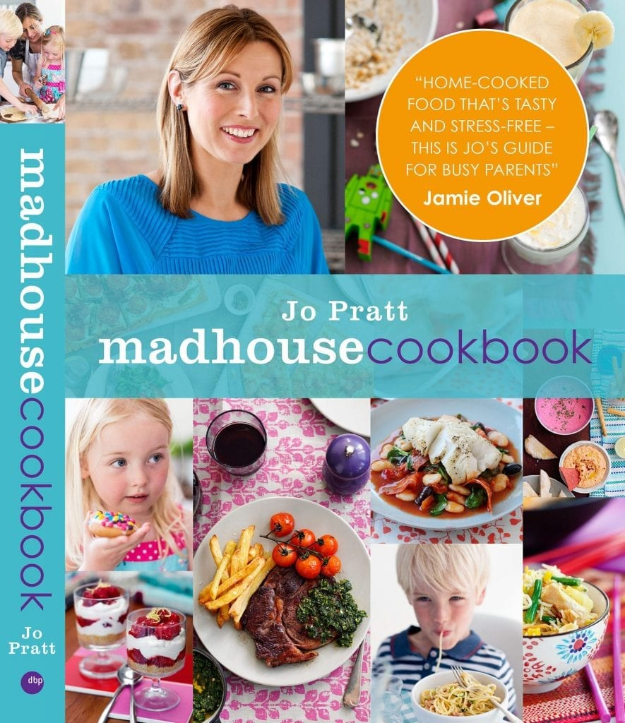 Cover of Jo Pratt's Madhouse cookbook