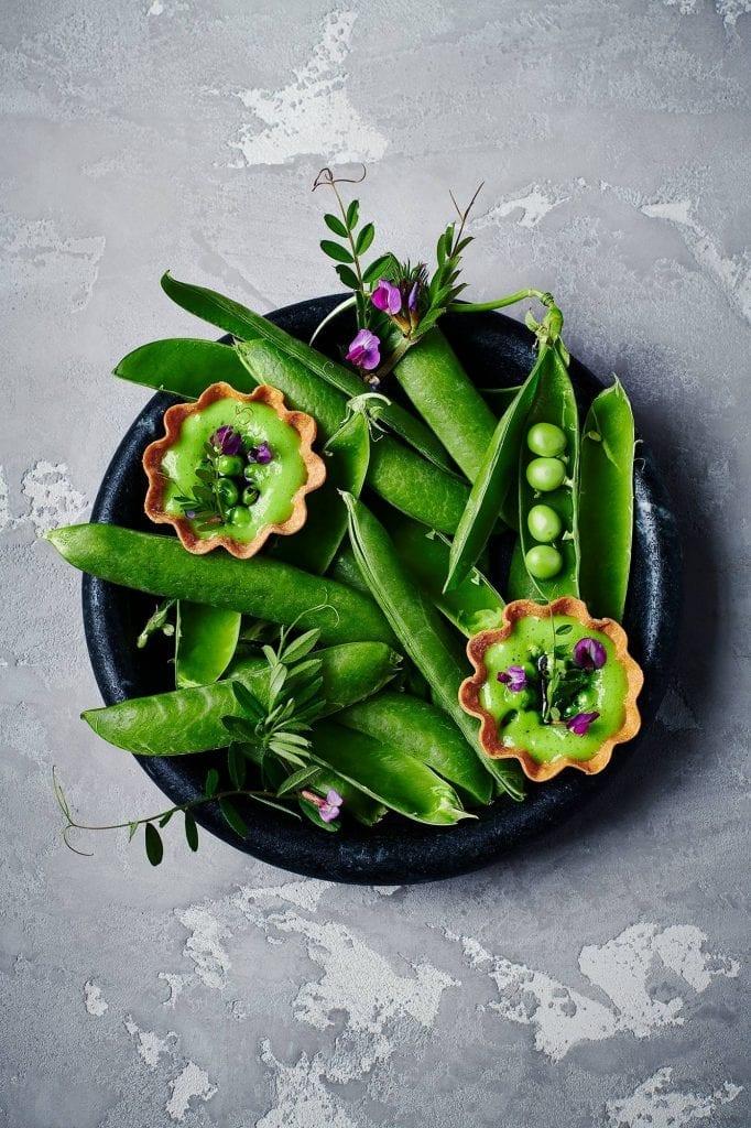 peas pods puree da terra restaurant