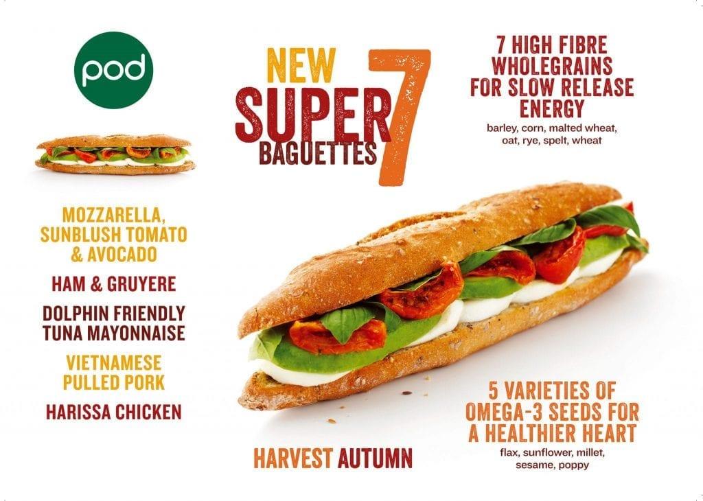 POD Super 7 baguettes