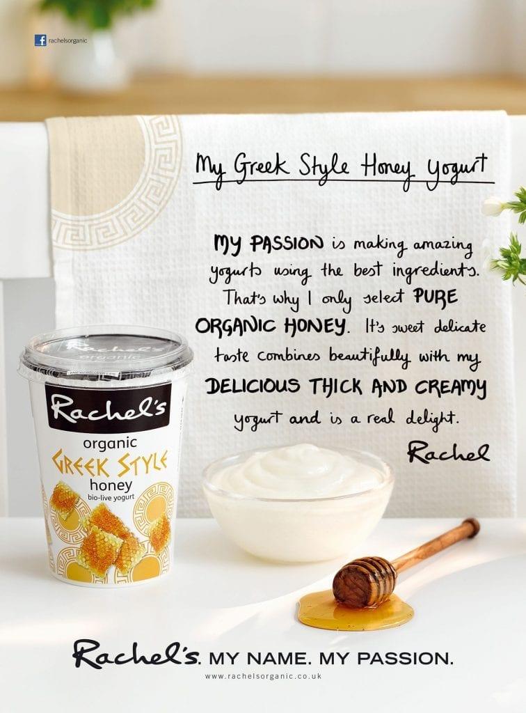 Rachel's Organic Greek yoghurt