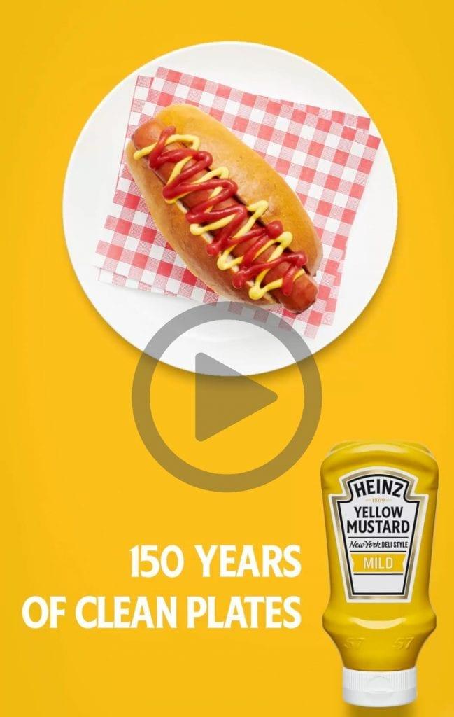 Heinz 150th Birthday GIF for social media.
