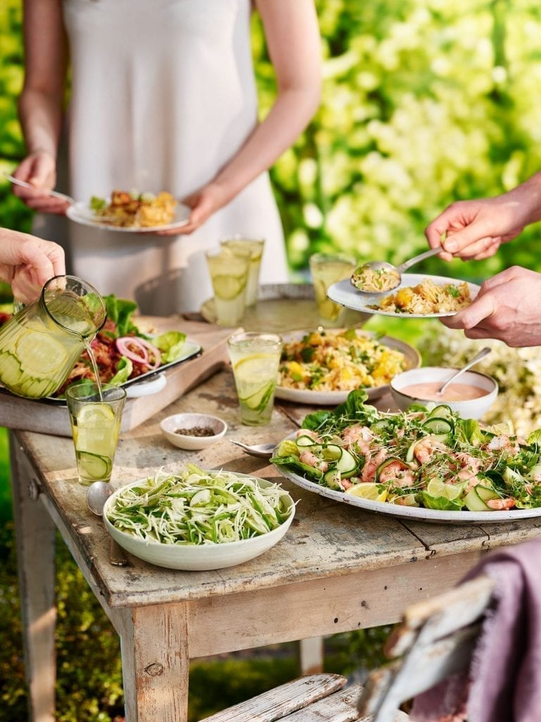 garden party salads people lifestyle tesco magazine