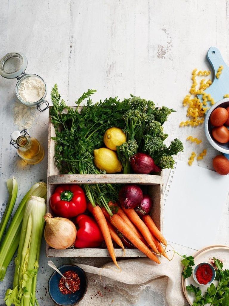Harvest vegetable selection