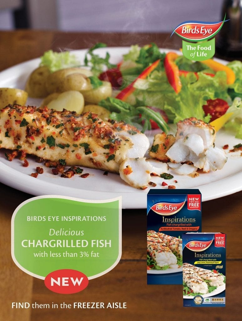 Birdseye Chargrilled fish