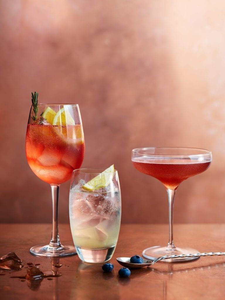 Flavoured vodka cocktails