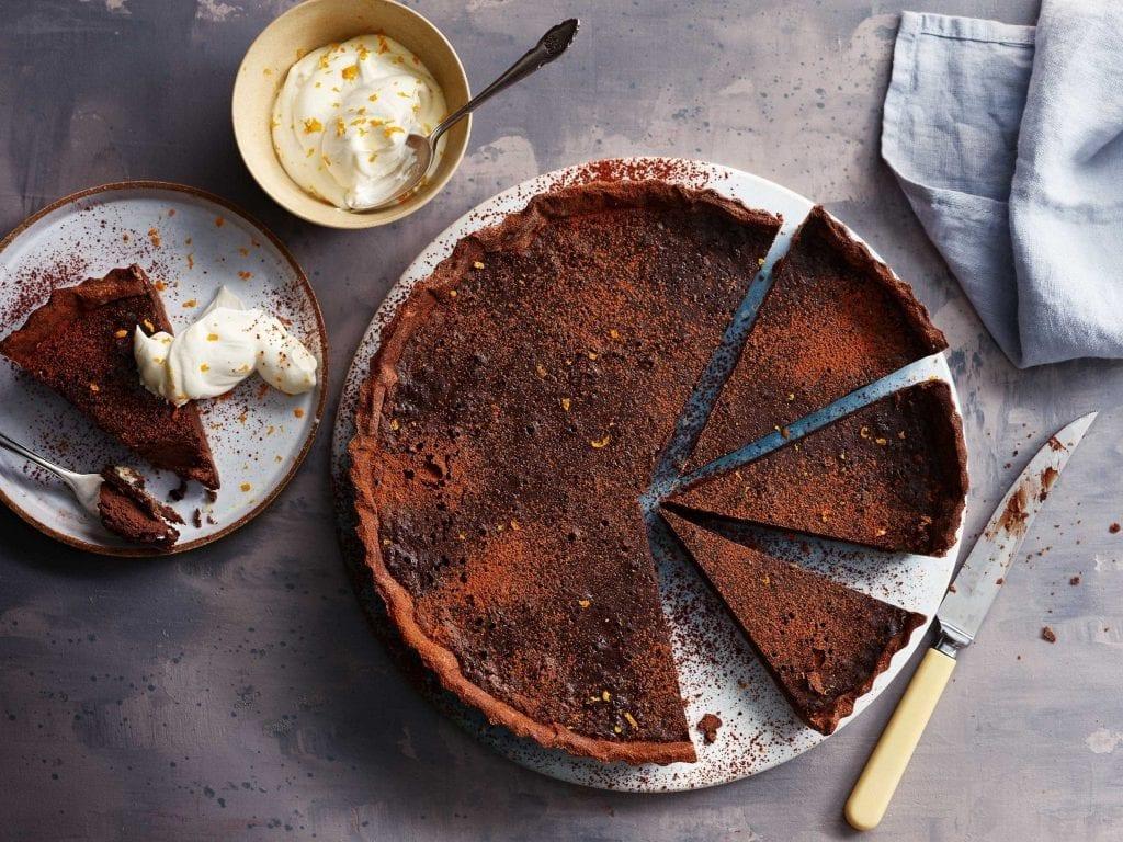 Orange Chocolate tart from BBC Britains Best Cook